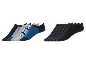 LIVERGY® Sneakersocken Herren, 5 Paar, Anti-Rutsch-Band