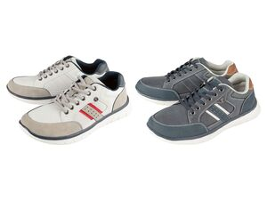 Footflexx Sneaker Herren, G-Weite, mit Lederdecksohle