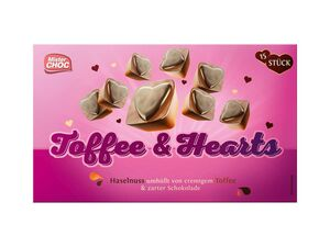Mister Choc Toffee & Hearts