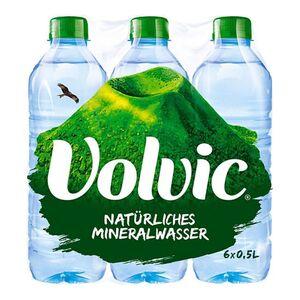 Volvic Mineralwasser Naturelle 0,5 Liter, 6er Pack