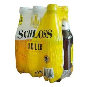 Schloss Radler 2,5 % vol 0,5 Liter, 6er Pack
