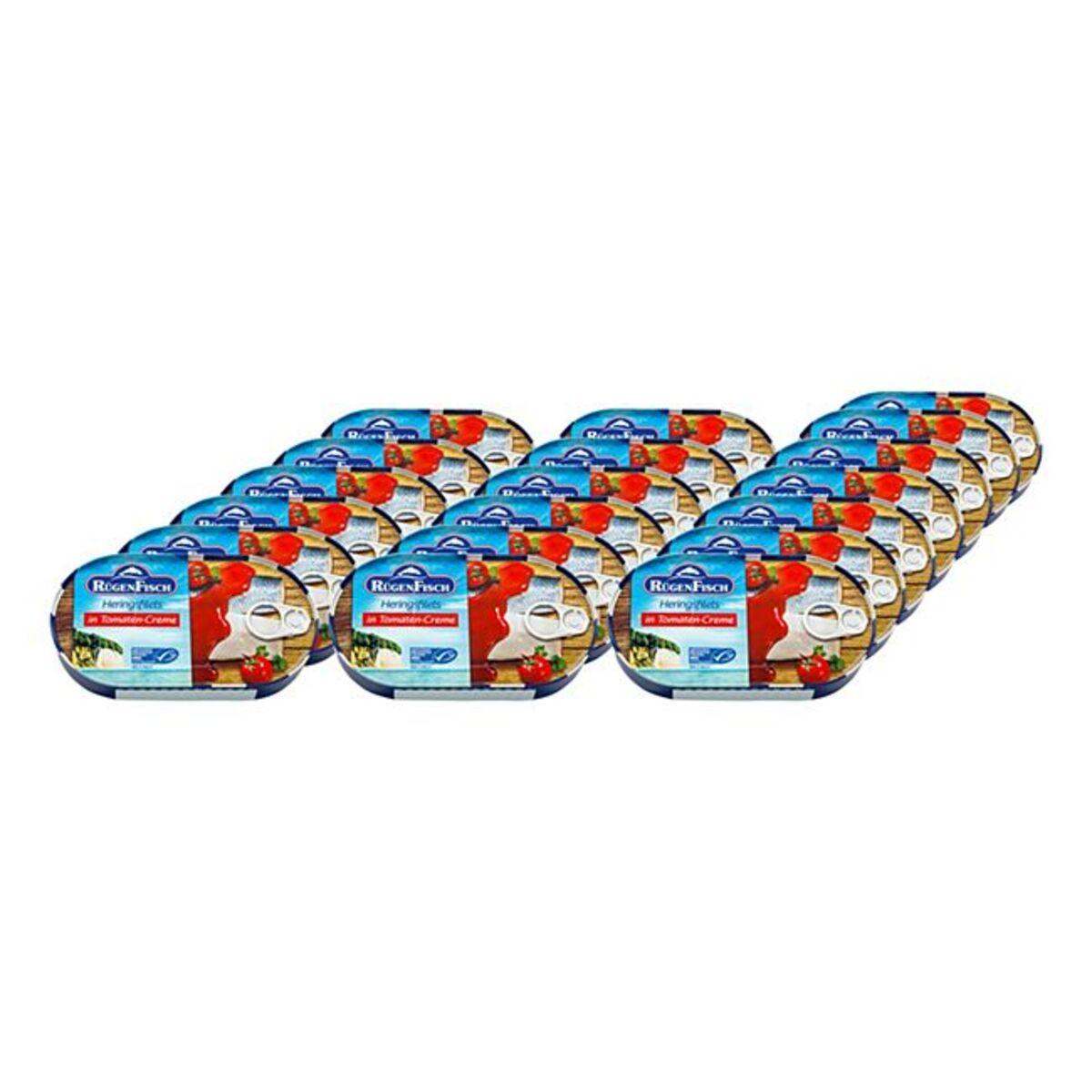 Bild 1 von Rügenfisch Heringsfilet Tomate MSC 200 g, 19er Pack
