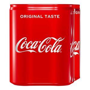 Coca-Cola 0,33 Liter Dose, 4er Pack