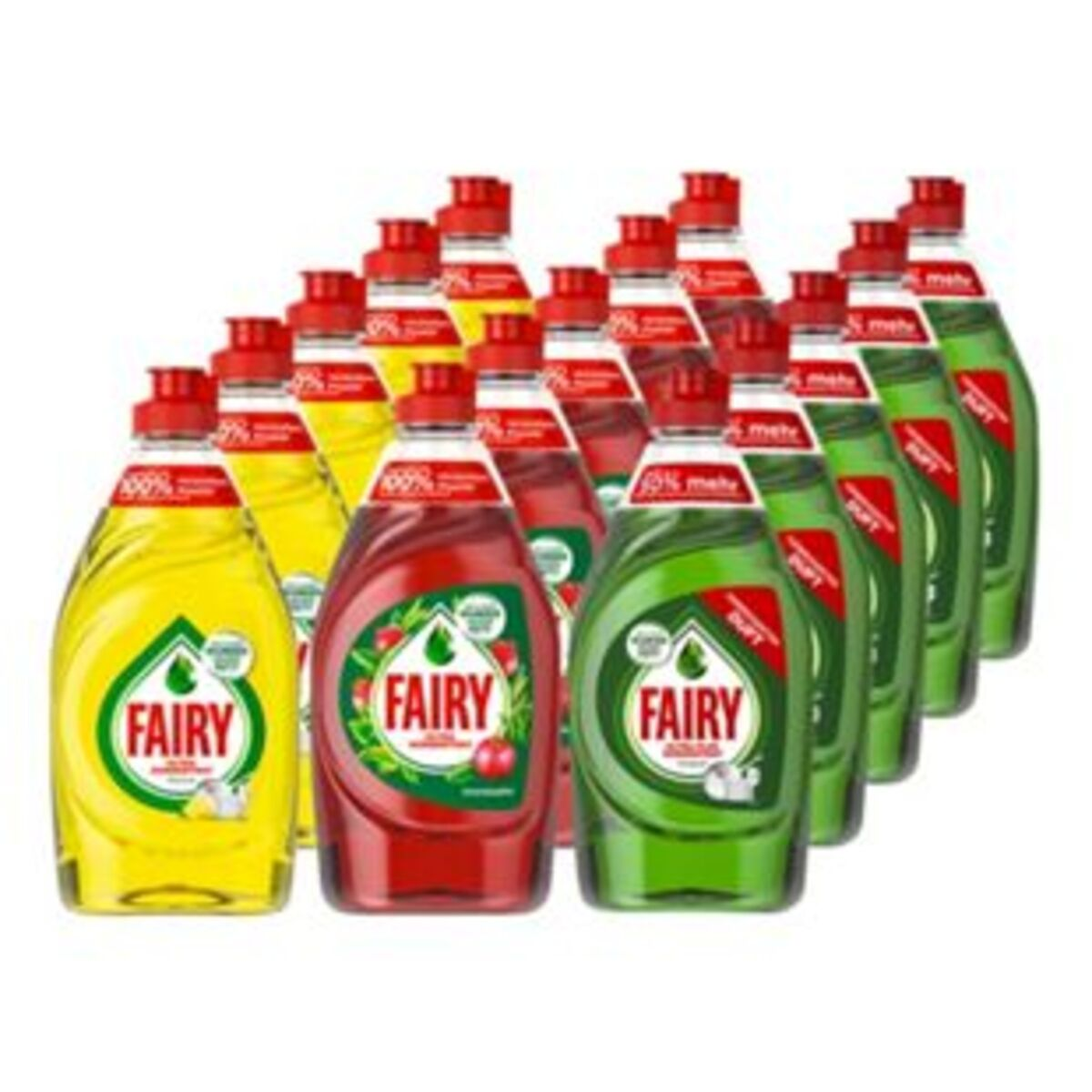 Bild 2 von Fairy Handspülmittel 450 ml, verschiedene Sorten, 15er Pack
