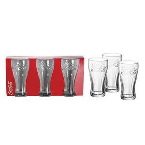 Coca-Cola Gläser 0,3l 3er Pack