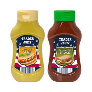 TRADER JOE'S     BBQ- / Hot-Dog-Sauce