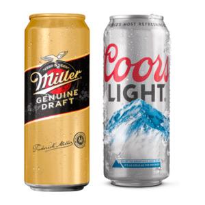 Coors Light / Miller Genuine Draft