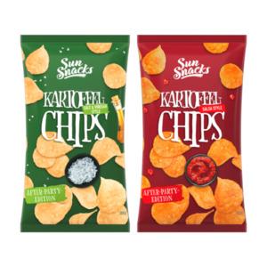 SUN SNACKS     Kartoffelchips Special Edition
