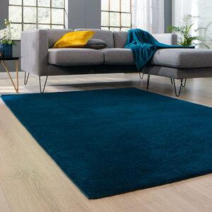 Teppich 160x230cm Blau1