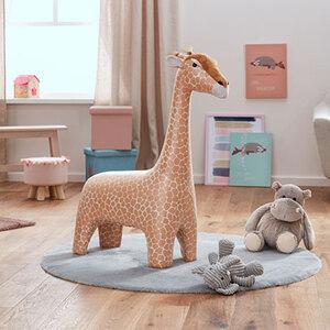 Kinderhocker Giraffe1