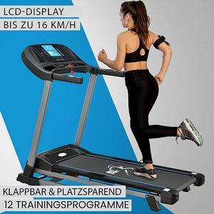 ArtSport Laufband Speedrunner SR1620 elektrisch & klappbar   16 km/h Geschwindigkeit   12 Programme