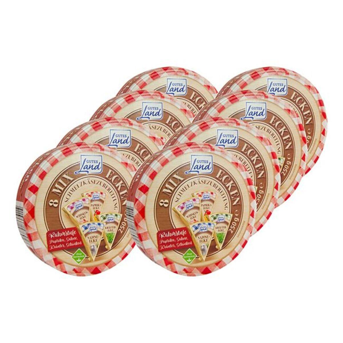 Bild 1 von Gutes Land Runddose Käse-Mix ohne Gentechnik 250 g, 8er Pack