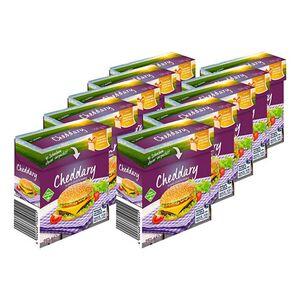 Cheddary Schmelzkäse Scheiben 250 g, 10er Pack