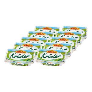 Nordgut Schmelzkäsezubereitung Kräuter 200 g, 10er Pack