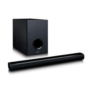 Lenco SBW-800BK Bluetooth-Soundbar mit kabellosem Subwoofer