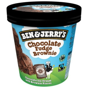 Ben & Jerry's Eis Chocolate Fudge Brownie 465ml