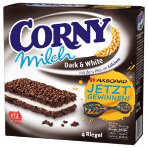 Corny Milch Dark & White 4X30g