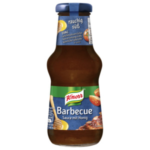 Knorr Barbecue Sauce mit Honig 250ml