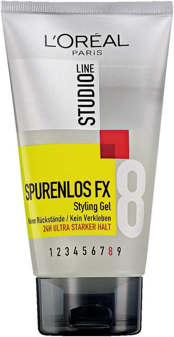 LOréal Studio Line 8 SPURENLOS FX Styling Gel 1.66 EUR/ 100 ml