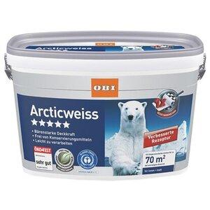 OBI Arcticweiss matt 10 l
