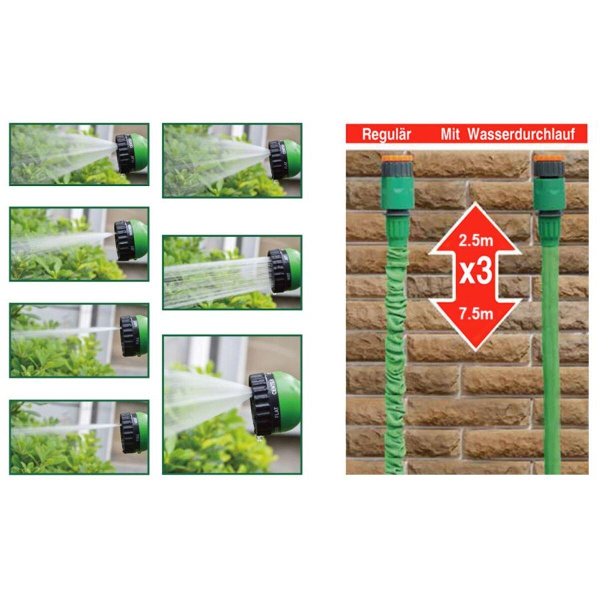 Bild 2 von Flexi Gartenschlauch 2,5-7,5m