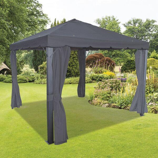 Luxus-Pavillon Triangel Khaki