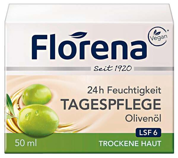 Florena 24h Feuchtigkeit Tagespflege Olivenöl 5.98 EUR/ 100 ml