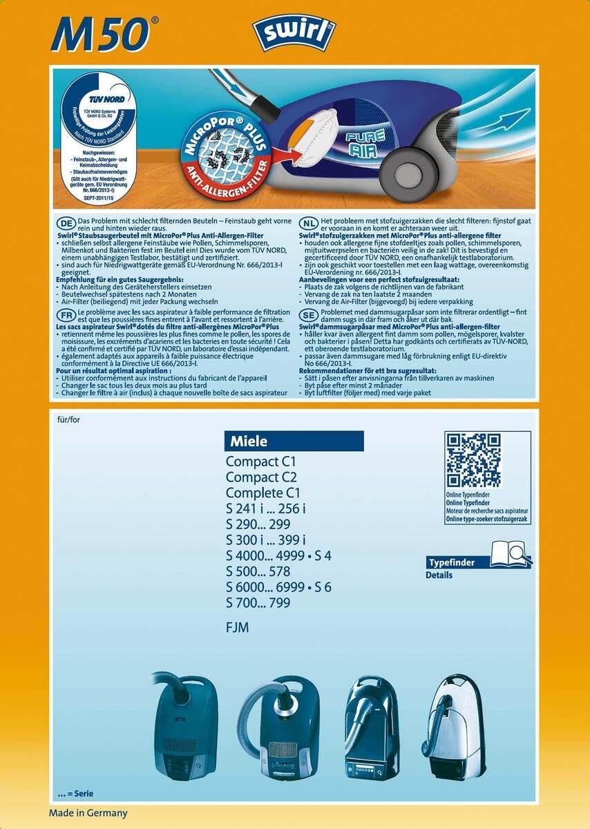 Bild 2 von Swirl              Pure Air Filter M50