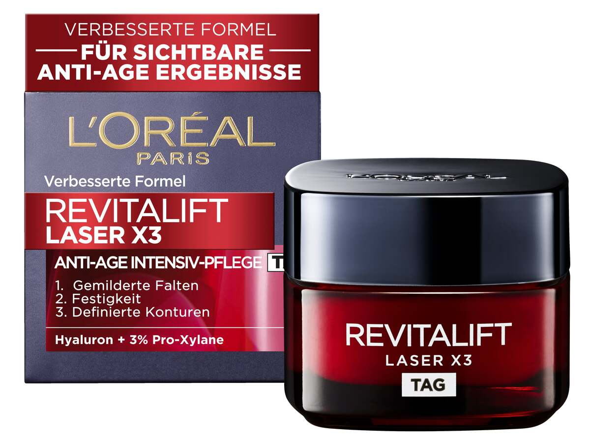 Bild 5 von L Oréal Paris Revitalift Laser X3 Anti-Falten Pflege 29.98 EUR/ 100 ml