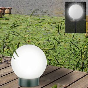 LED-Solar-Kugelleuchte 25cm
