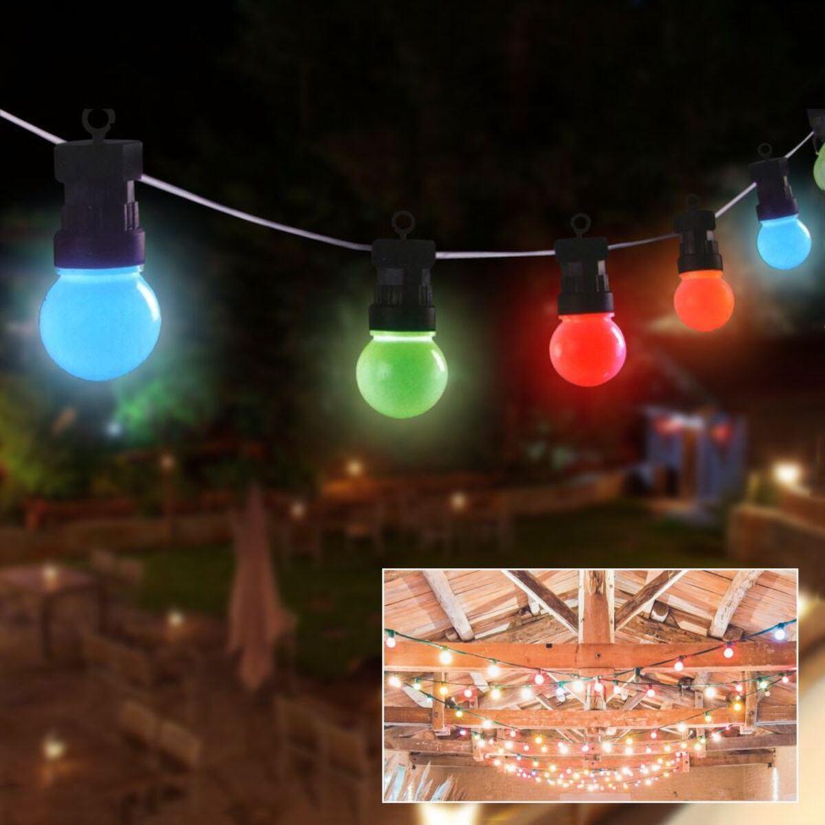 Bild 1 von Biergarten-Lichterkette 10er