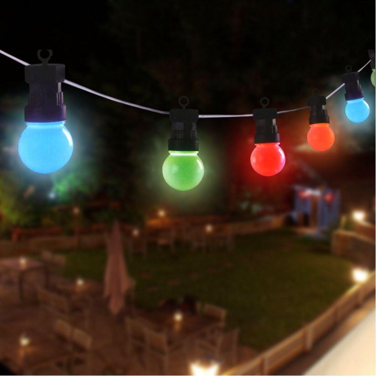 Bild 2 von Biergarten-Lichterkette 10er