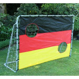 Fussballtor mit Torwandeinsatz