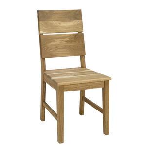 Stuhl In Holz Eichefarben CARRYHOME, Braun