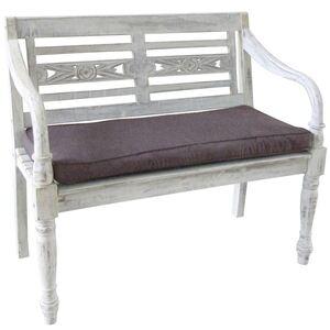 Sitzauflage Grau für Gartenbank William