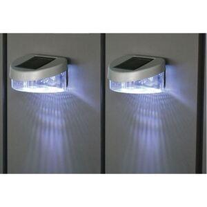 Zaun-Solar-Lichter 2er