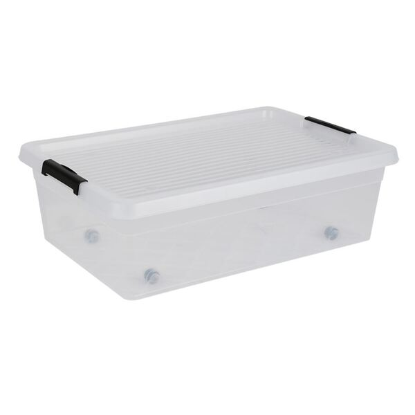 Box-One Unterbettbox mit Rollen