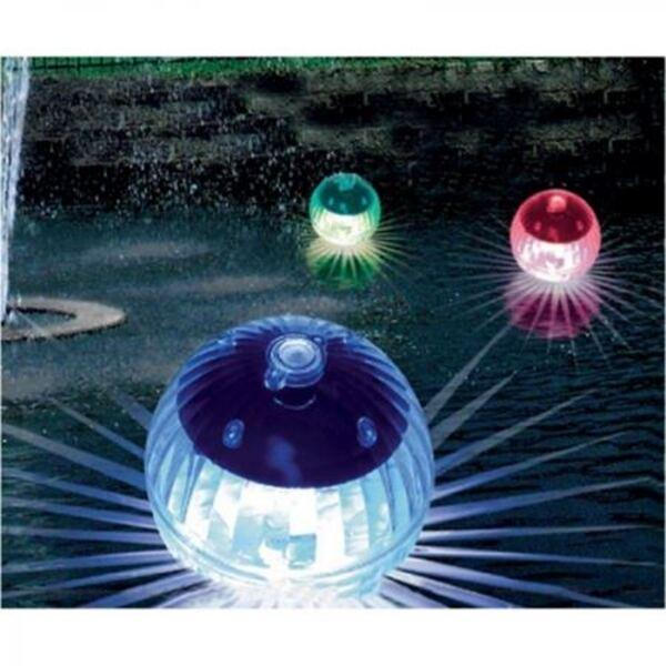 Solar-LED-Schwimmkugeln