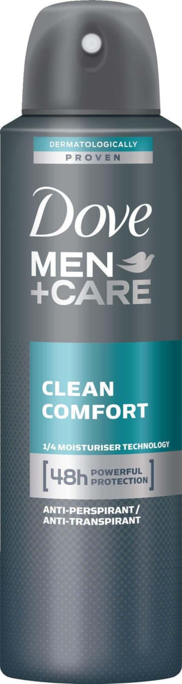 Dove Men+Care              Clean Comfort Deo-Spray