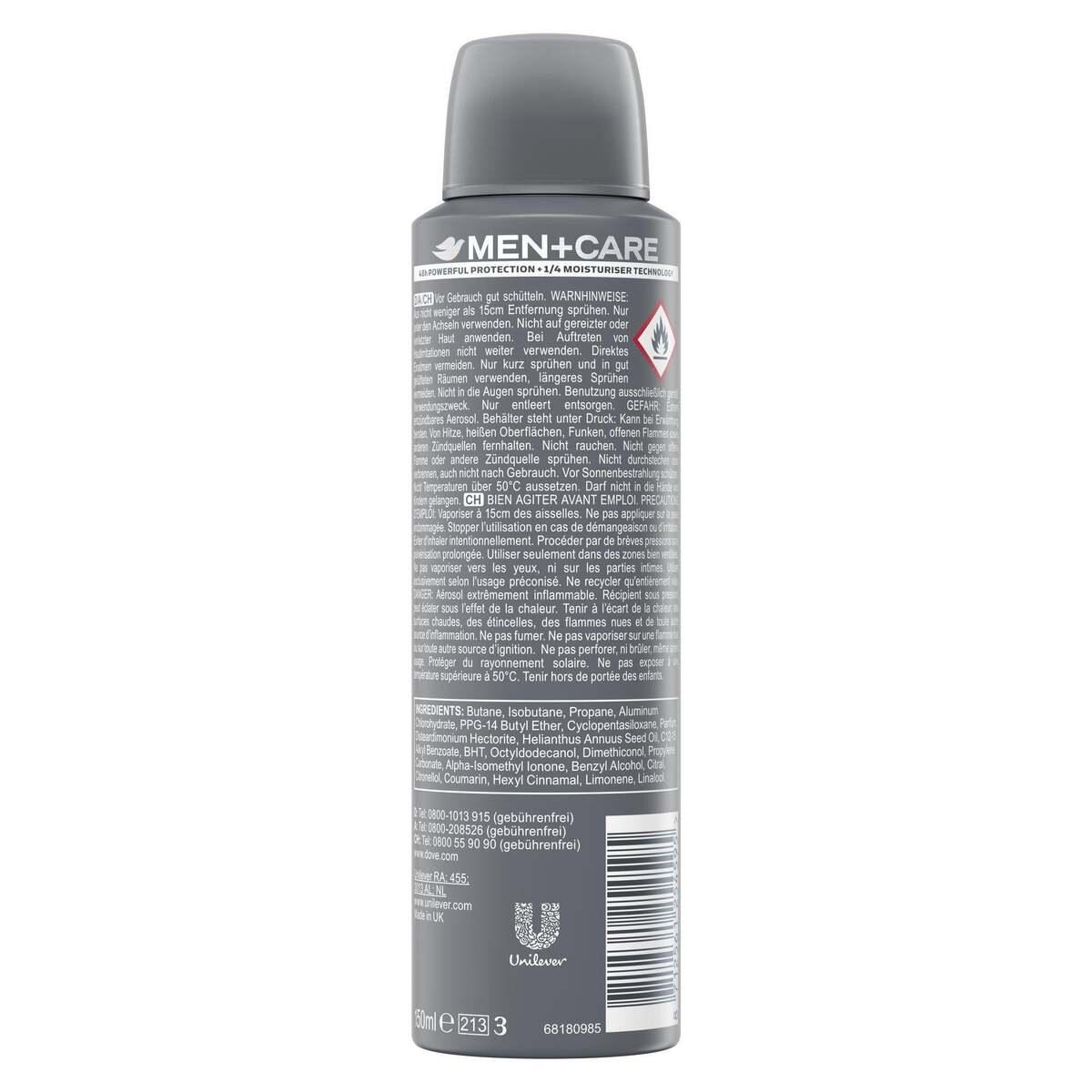 Bild 2 von Dove Men+Care              Clean Comfort Deo-Spray