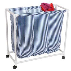 Wäschewagen mit 3 Fächern