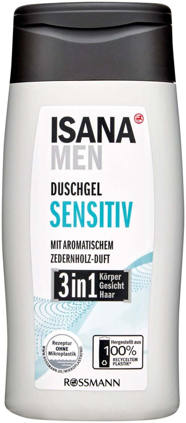 ISANA men              2in1 Duschgel sensitiv