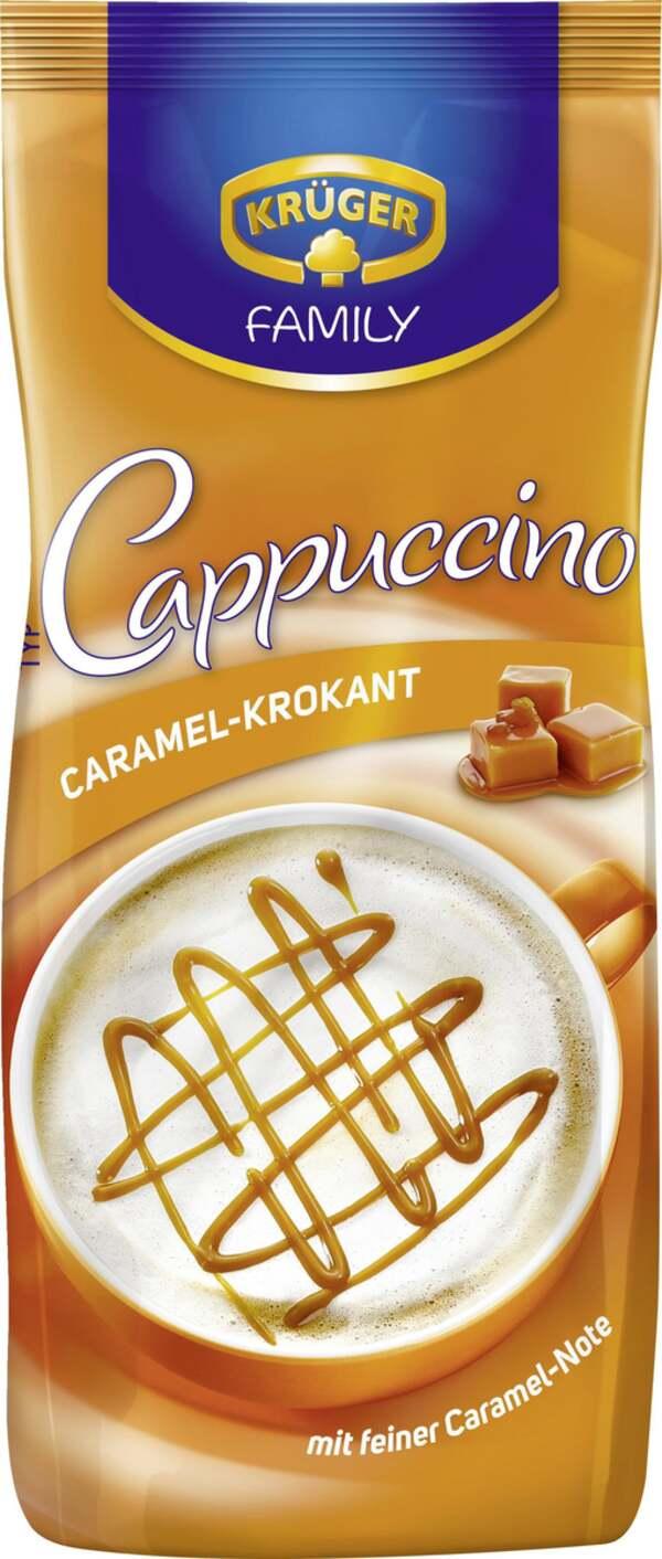 Krüger Family              Caramel-Krokant Cappuccino