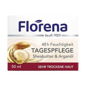 Florena              48 h Feuchtigkeit Tagespflege Sheabutter & Arganöl