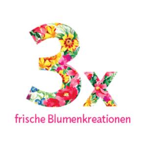 """Blumenstrauss-Abonnement """"3"""""""