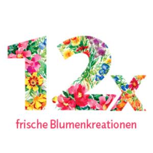 """Blumenstrauss-Abonnement """"12"""""""
