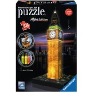 Ravensburger 3D Puzzle Big Ben bei Nacht