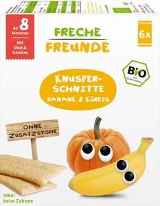 erdbär              Bio Freche Freunde Knusper-Schnitte Banane & Kürbis