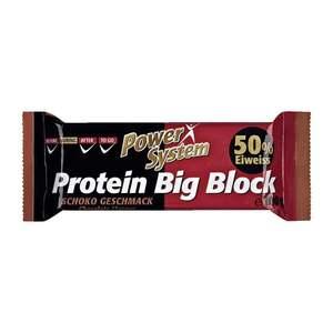 """Power System              Protein Big Block Eiweiß Riegel """"Schoko Geschmack"""""""