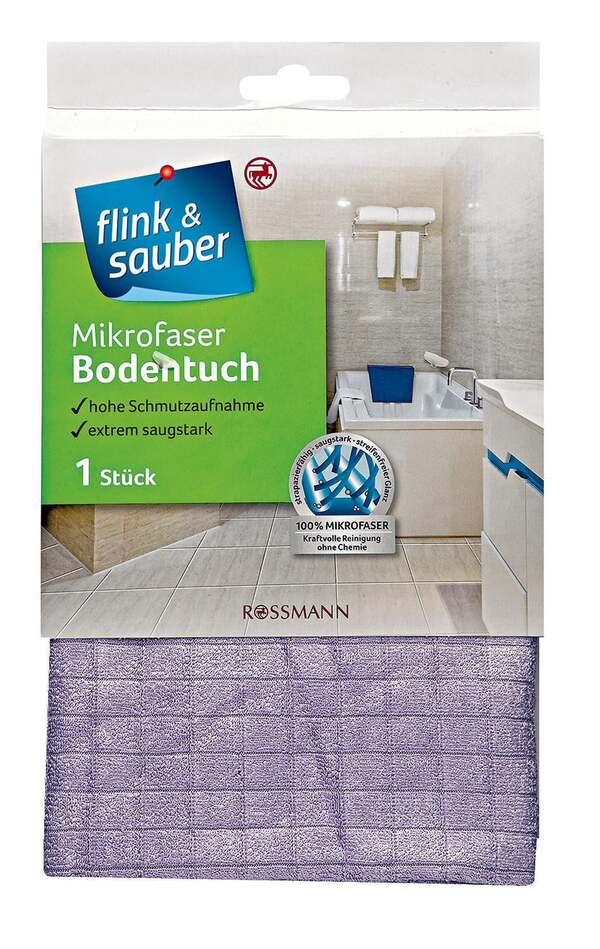 flink & sauber              Microfaser Bodentuch